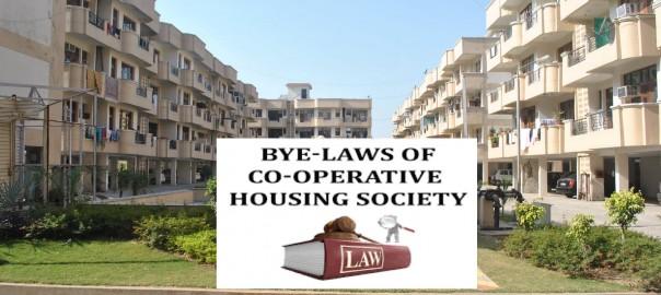 Bye Laws for Housing Society in Maharashtra